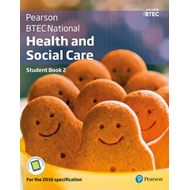 BTEC Nationals Health and Social Care Student Book 2 + Activ (BOK)
