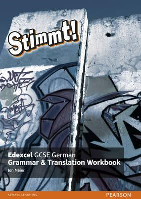 Stimmt! Edexcel GCSE German Grammar and Translation Workbook (BOK)