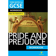 Pride and Prejudice: York Notes for GCSE (9-1) Workbook (BOK)
