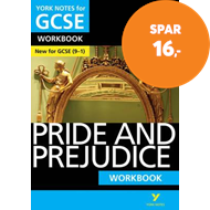 Produktbilde for Pride and Prejudice: York Notes for GCSE (9-1) Workbook (BOK)