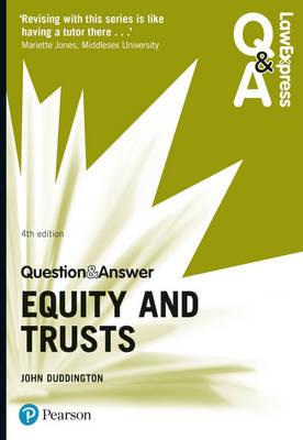 Law Express Question and Answer: Equity and Trusts (BOK)