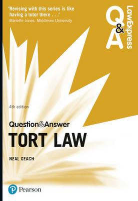 Law Express Question and Answer: Tort Law (BOK)