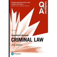 Law Express Question and Answer: Criminal Law (BOK)