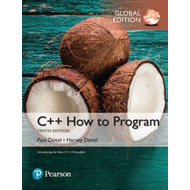 C++ How to Program (Early Objects Version), Global Edition (BOK)