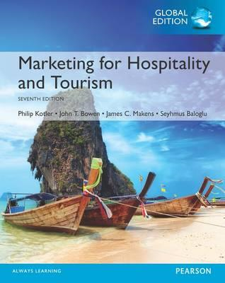 Marketing for Hospitality and Tourism, Global Edition (BOK)