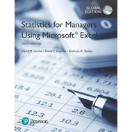Statistics for Managers Using Microsoft Excel, Global Editio (BOK)