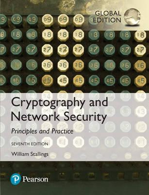 Cryptography and Network Security: Principles and Practice, (BOK)