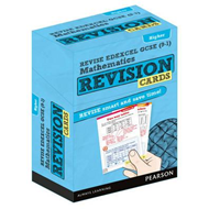 REVISE Edexcel GCSE (9-1) Mathematics Higher Revision Cards (BOK)