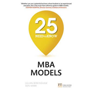 25 Need-to-Know MBA Models (BOK)