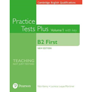 Cambridge English Qualifications: B2 First Volume 1 Practice (BOK)