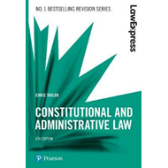 Law Express: Constitutional and Administrative Law (BOK)