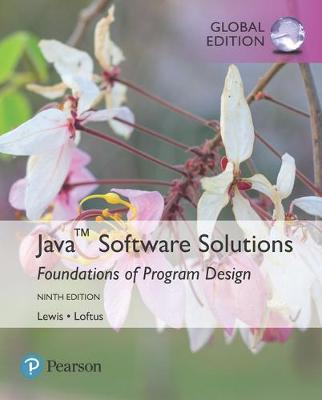 Java Software Solutions, Global Edition (BOK)