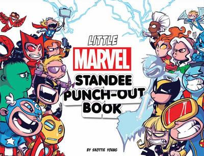 Little Marvel Standee Punch-Out Book (BOK)