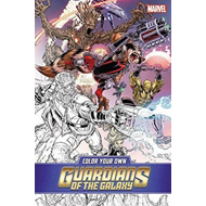 Color Your Own Guardians Of The Galaxy (BOK)
