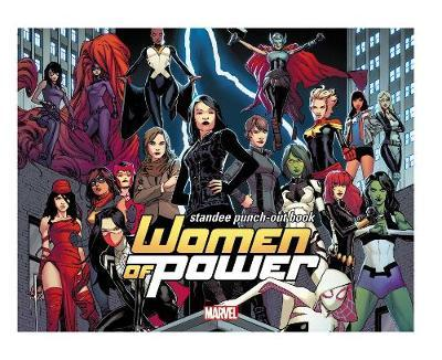 Heroes Of Power: The Women Of Marvel Standee Punch-out Book (BOK)