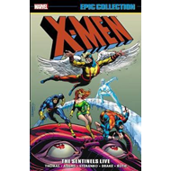Produktbilde for X-men Epic Collection: The Sentinels Live (BOK)