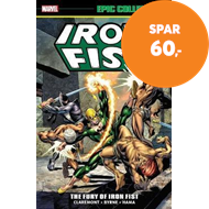 Produktbilde for Iron Fist Epic Collection: The Fury Of Iron Fist (BOK)