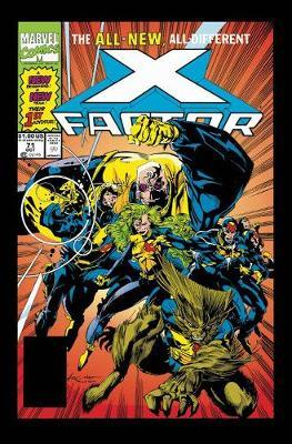 X-factor Epic Collection: All-new, All-different X-factor (BOK)