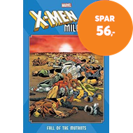 Produktbilde for X-men Milestones: Fall Of The Mutants (BOK)