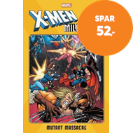 Produktbilde for X-men Milestones: Mutant Massacre (BOK)