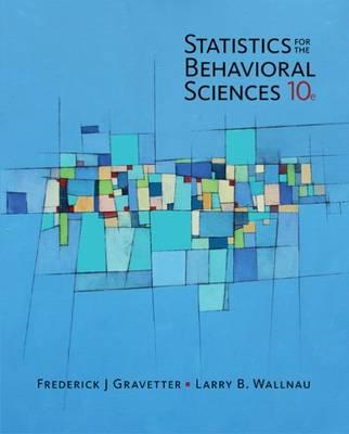 Statistics for The Behavioral Sciences (BOK)