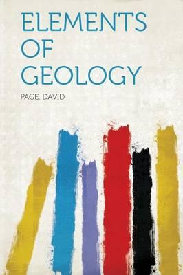 Elements of Geology (BOK)