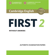 Cambridge English First 2 Student's Book without answers (BOK)
