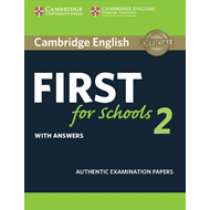 Cambridge English First for Schools 2 Student's Book with an (BOK)