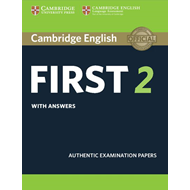 Cambridge English First 2 Student's Book with answers (BOK)