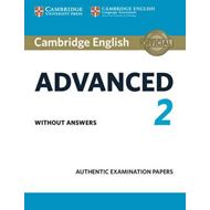 Cambridge English Advanced 2 Student's Book without answers (BOK)