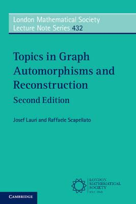 Topics in Graph Automorphisms and Reconstruction (BOK)