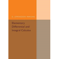 Elementary Differential and Integral Calculus (BOK)