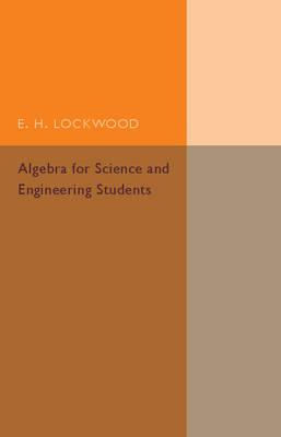 Algebra for Science and Engineering Students (BOK)