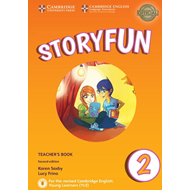 Storyfun for Starters Level 2 Teacher's Book with Audio (BOK)