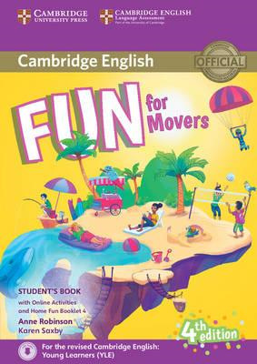 Fun for Movers Student's Book with Online Activities with Au (BOK)