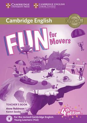 Fun for Movers Teacher's Book with Downloadable Audio (BOK)