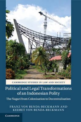 Political and Legal Transformations of an Indonesian Polity (BOK)