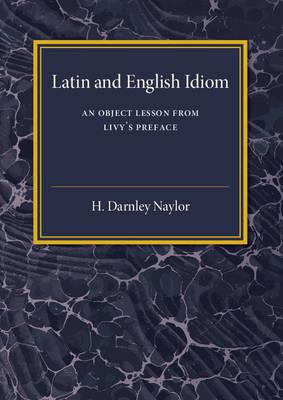 Latin and English Idiom (BOK)