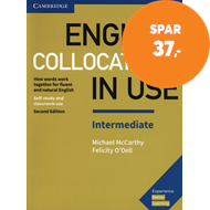Produktbilde for English Collocations in Use Intermediate Book with Answers - How Words Work Together for Fluent and (BOK)