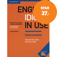 Produktbilde for English Idioms in Use Intermediate Book with Answers - Vocabulary Reference and Practice (BOK)