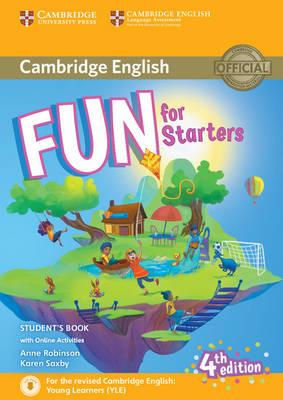 Fun for Starters Student's Book with Online Activities with (BOK)