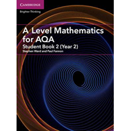 Produktbilde for A Level Mathematics for AQA Student Book 2 (Year 2) (BOK)
