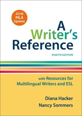 Writer's Reference with Resources for Multilingual Writers a (BOK)