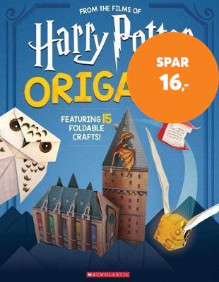 Origami: 15 Paper-Folding Projects Straight from the Wizarding World! (Harry Potter) (BOK)