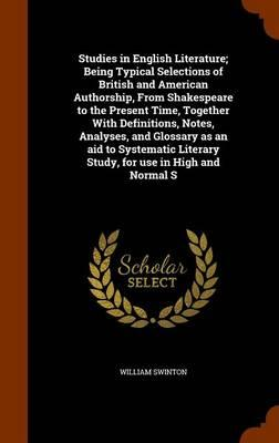 Studies in English Literature (BOK)