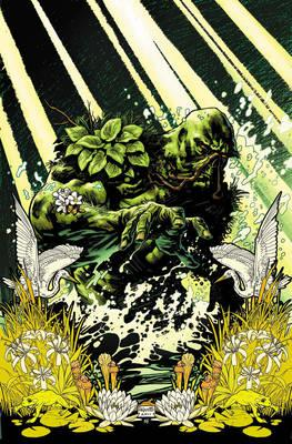 Swamp Thing By Scott Snyder Deluxe Edition HC (BOK)