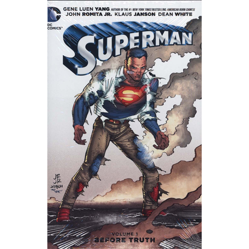 Superman HC Vol 1 Before Truth (BOK)