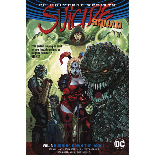 Suicide Squad Vol. 3 Burning Down The House (Rebirth) (BOK)