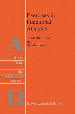 Exercises in Functional Analysis (BOK)