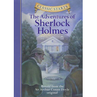 Produktbilde for Classic Starts (R): The Adventures of Sherlock Holmes - Retold from the Sir Arthur Conan Doyle Origi (BOK)